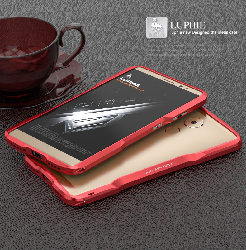 Luphie Incisive Sword Slim Light Aluminum Bumper Metal Shell Case for Huawei Mate 8
