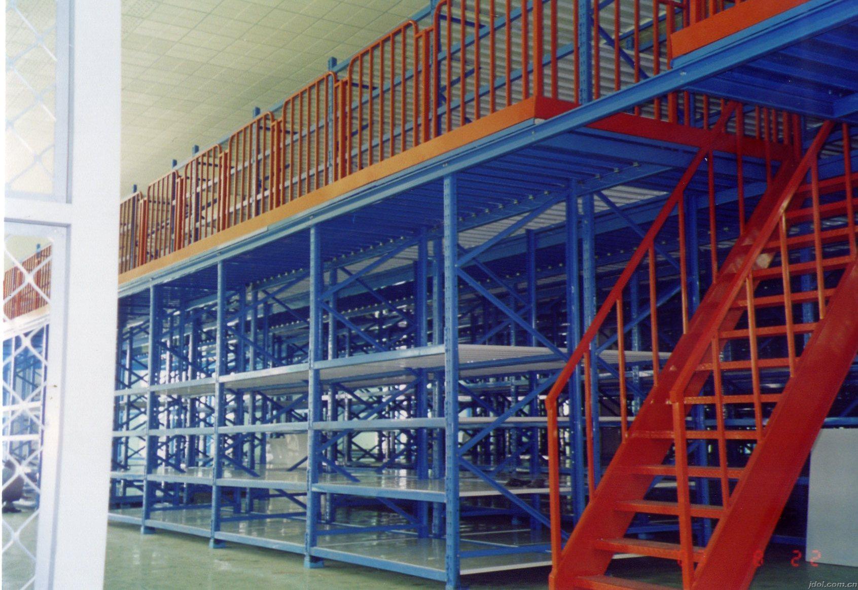 清溪工字钢平台厂家 塘厦钢结构阁楼货架定制 高档库房阁楼货架