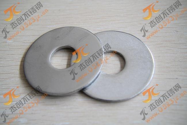 M18 不锈钢加大平垫 201不锈钢平垫圈 201不锈钢垫片非标定做