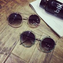 夏季热销复古水银反光太阳镜 户外情侣树脂防晒墨镜 厂家眼镜批发