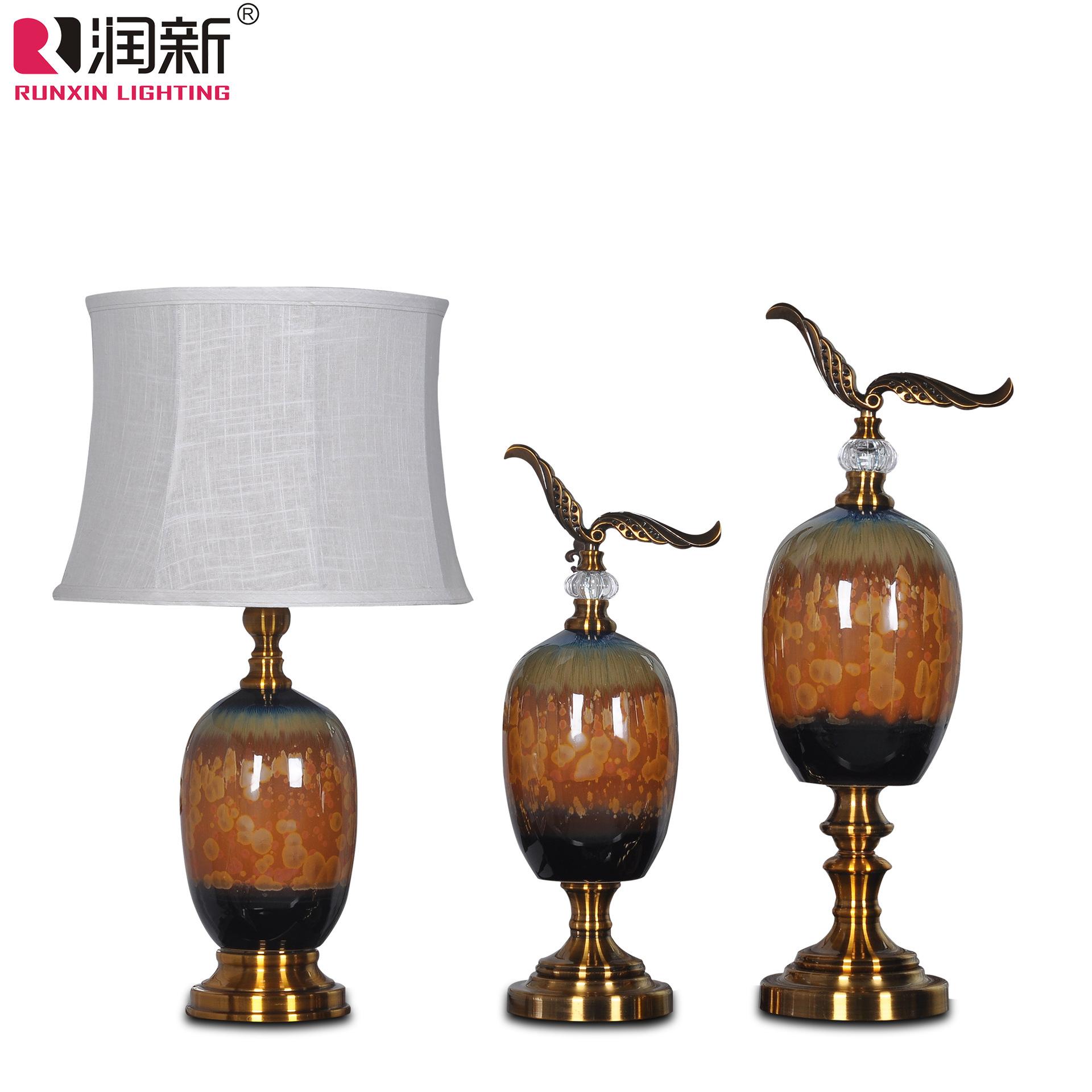 欧式陶瓷台灯罩100元效果图