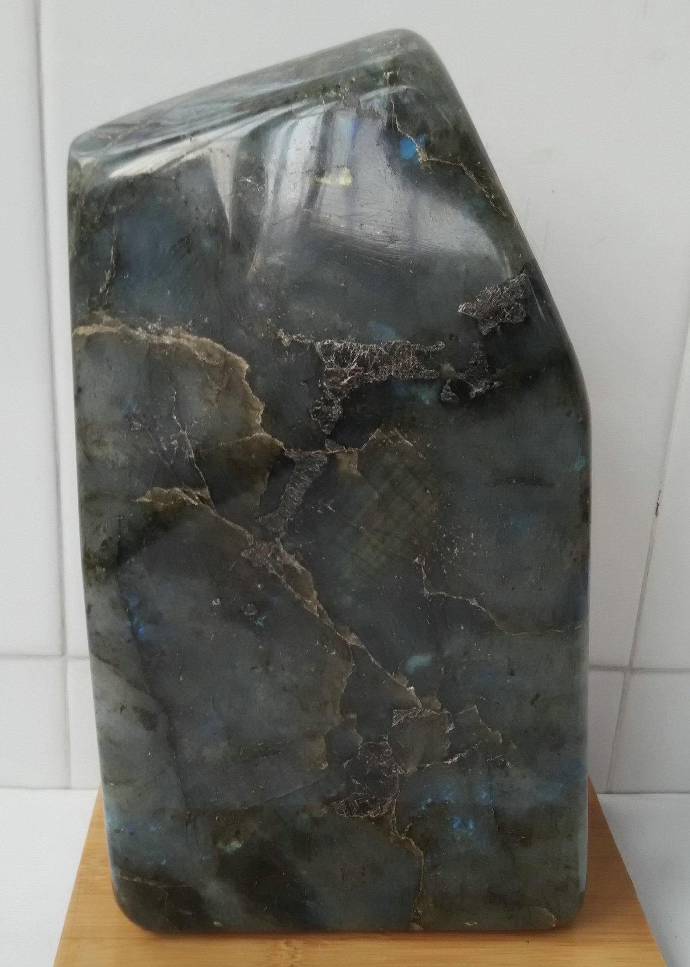 天然拉长石月光石摆件 拉长石原石摆件 6图片