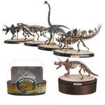 优肯儿童益智科教玩具4D拼装模型玩具 化石骨架恐龙仿真动物模型