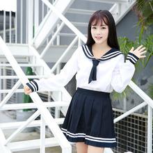 高端JK制服日系三本班服校服关西襟学生水手服短袖套装L25