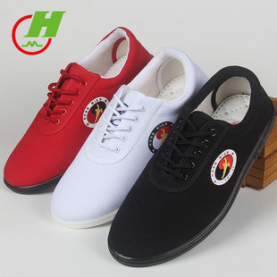Wholesale Cotton Tree canvas tai chi shoes men and women spring and summer children's martial arts practice shoes ta