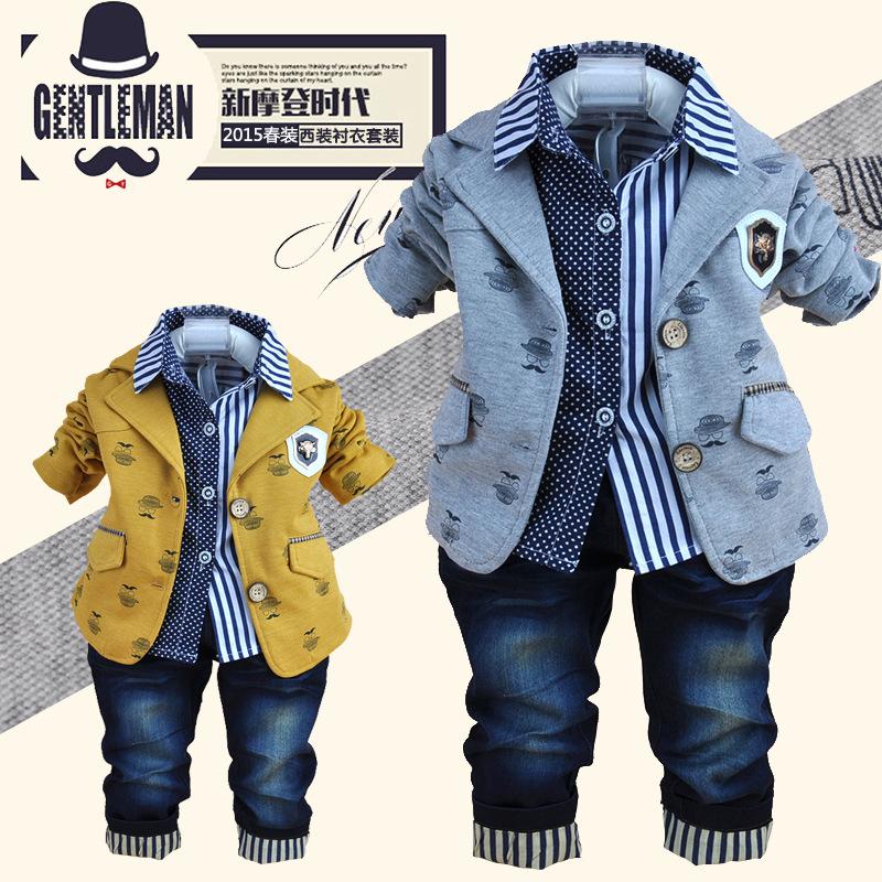 冬装加厚卫衣儿童三件套套装图片