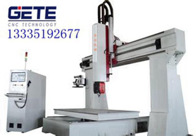 五轴联动数控机床 格特高精度模具CNC雕刻机
