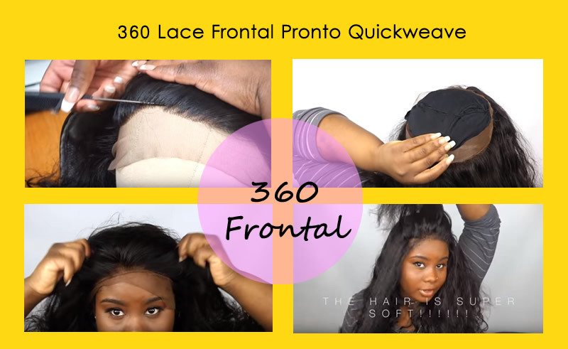 Spicy Hair How To Install 360 Lace Frontal