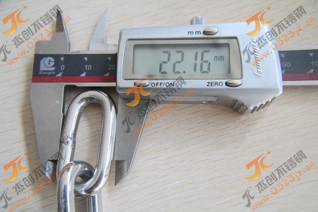 现货供应6MM不锈钢链条 304不锈钢链条 宠物链 承重链条