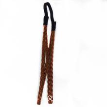 厂家直销 双条麻花辫子头带发带 复古假发发箍发饰