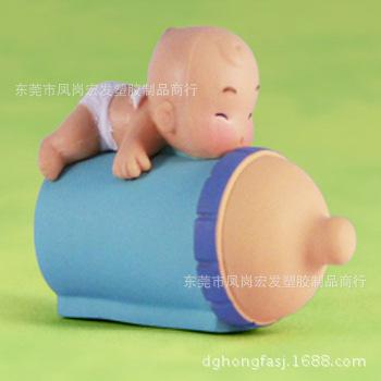 转蛋机壳公仔荡秋千q版奶瓶嘴可爱婴儿飞机学生