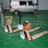 天津2噸電子地牛秤 YCS-2000KG稱重地牛 3噸標準電子叉車秤
