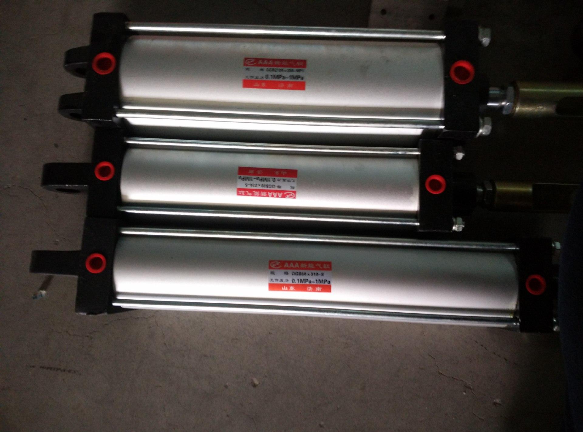 厂家直销亚德客气缸铝合金亚德客气缸非标定制大缸径大行程气缸