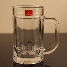 现货批发无铅玻璃厚底扎啤杯 带把啤酒杯 饮料杯 牛奶杯 酒店会所