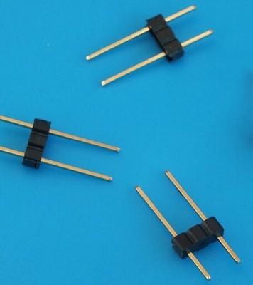 嘉皓环保0.7*15圆针和0.5*15方针带胶汽车灯G4灯脚丝,针距4MM,