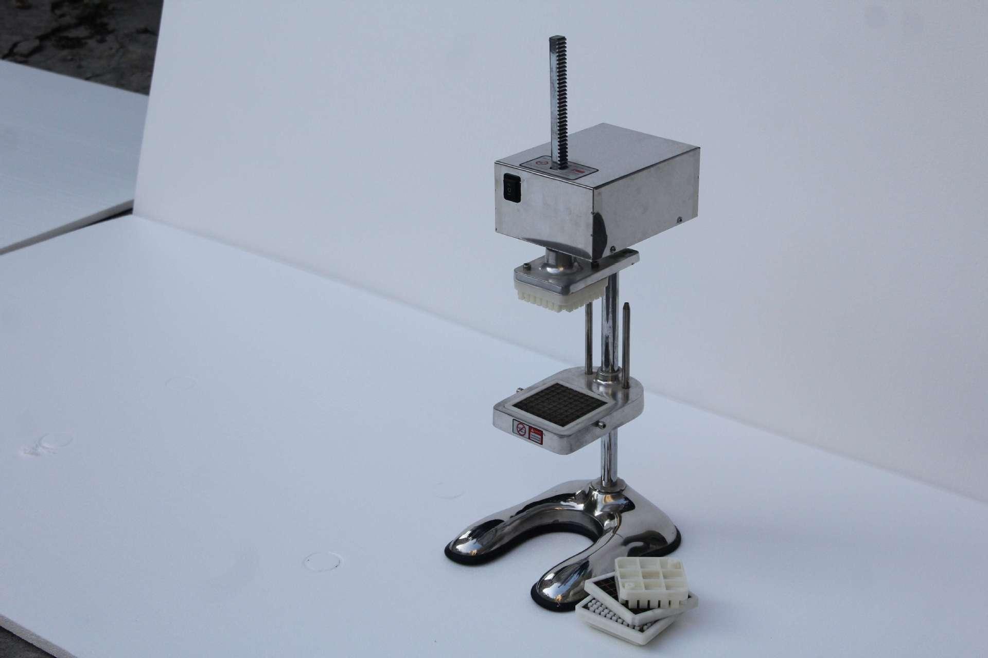 商用烘焙刺身-立式供应电动设备切食品机/厂家薯条盒图片