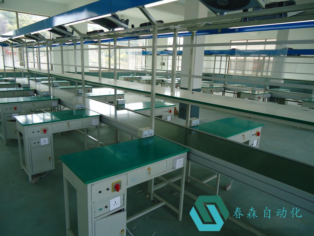 供應成套皮帶流水線電子組裝生產線鋁型材皮帶線輸送機自動化設備