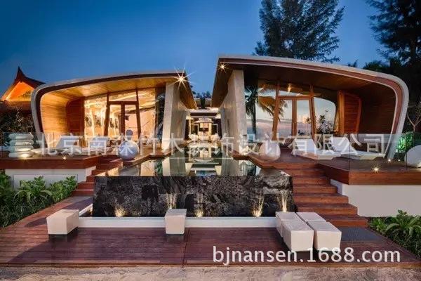 如此高贵,漂亮的木屋别墅,海边木屋酒店,快来欣赏