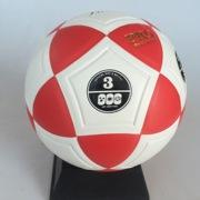 厂家直销 3号pvc足球 三角贴皮耐磨无缝粘合比赛训练专用足球