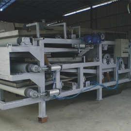 污泥脱水机厂家 污泥机处理 带式浓缩脱水一体机 物料压滤脱水机