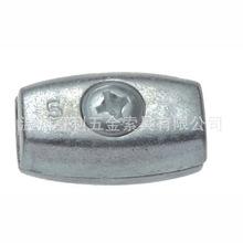 溫州直銷批發鋅合金鍍鋅蛋形線卡鋼絲繩線夾514Z
