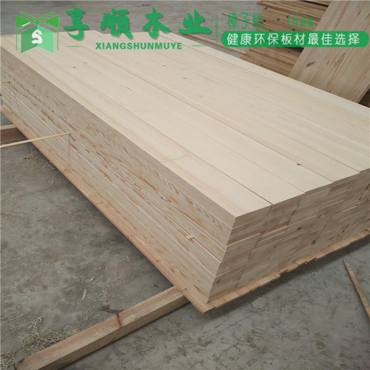 专业生产松木家具集成无节 font