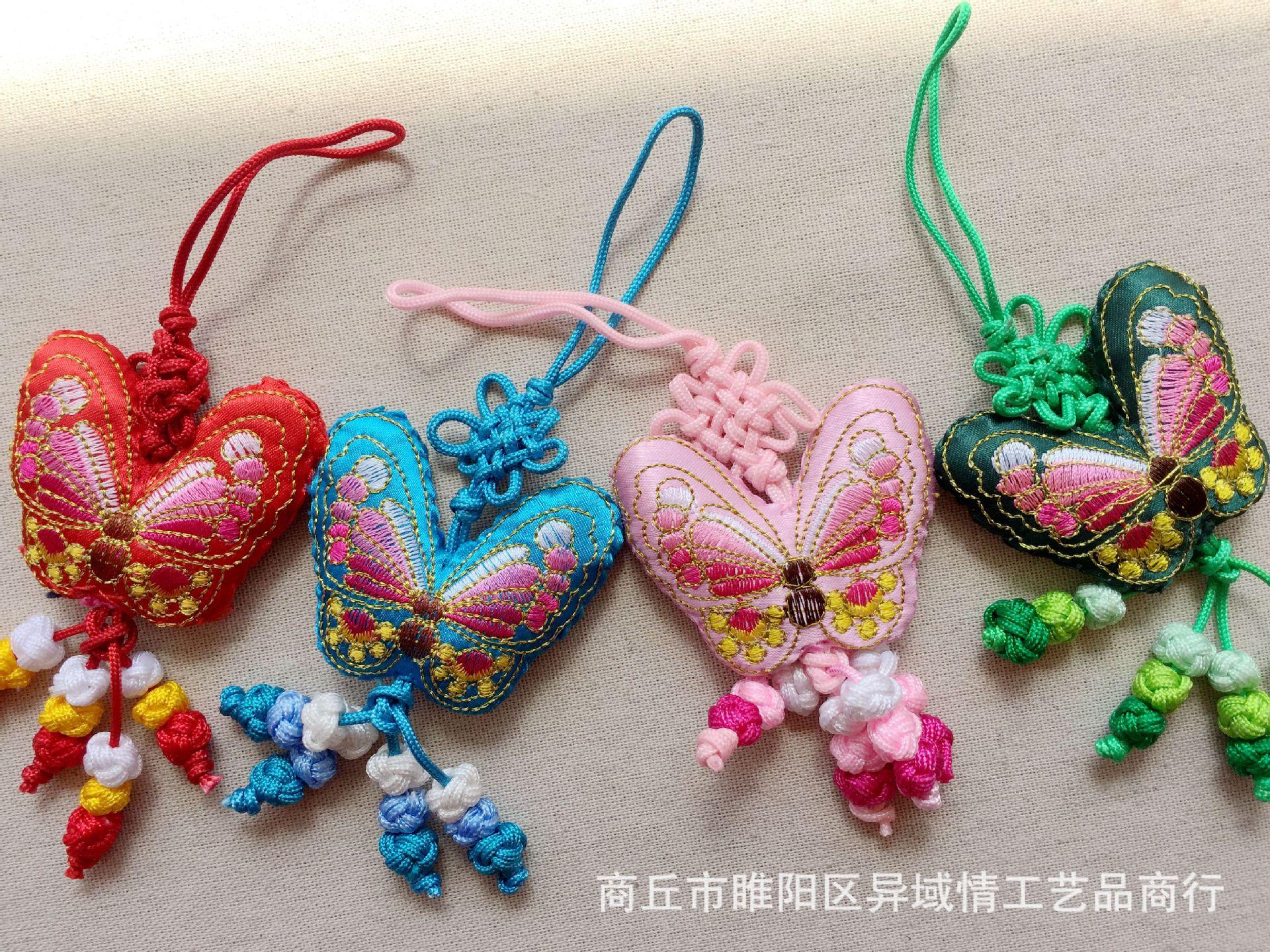蝴蝶香包图片