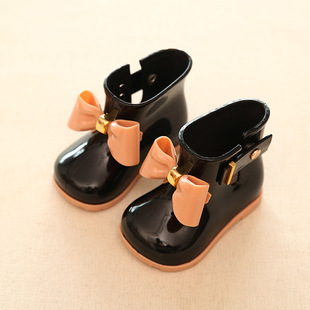 Children's rain boots boys and girls slip water shoes baby boots child children minised students in spring and autum