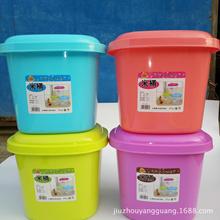 厂家 米桶 塑料储米桶 家用米桶10kg 塑料米桶10kg 储米桶彩色