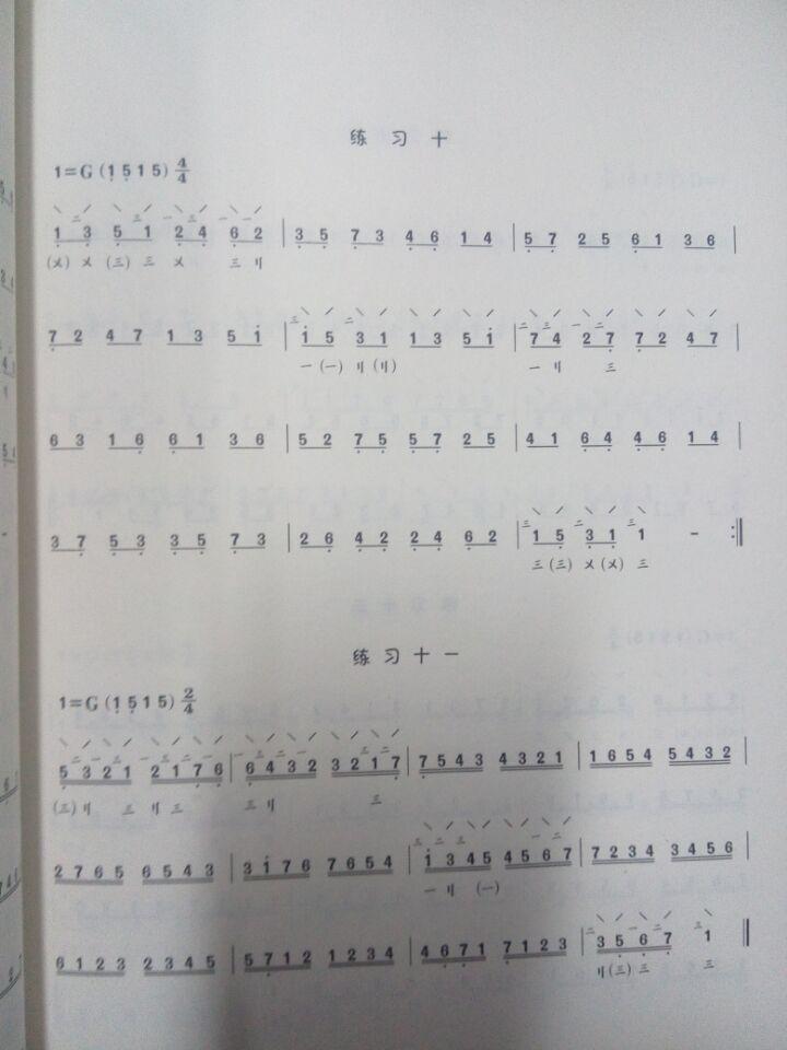 阮练习曲集 巫东攀编 中阮练习曲谱教材书籍