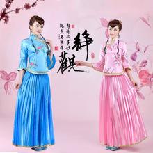 古装/民国小姐装/小凤仙/古筝舞台演出表演服装