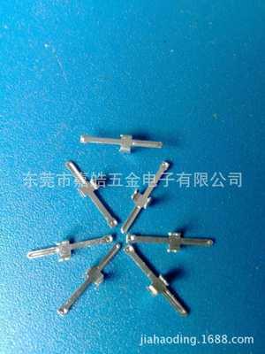 广东专业订制连接器五金冲压端子,镍片,圆管公母端子,圆环端子