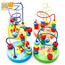木丸子 婴儿绕珠儿童积木玩具1-3-6岁男孩女孩宝宝益智启蒙串珠