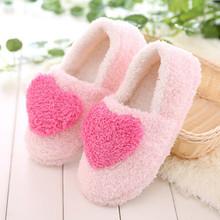 新款棉拖鞋女居家防滑月子鞋孕妇包跟软底耐磨家居鞋大爱心地板拖