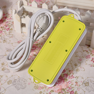 Multi-function plug socket The new national standard lug plate with switching power supply socket Household wiring board