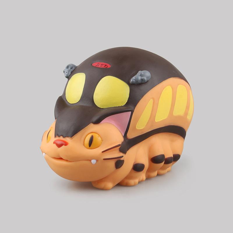 狼族动漫批发 宫崎骏 龙猫 猫车巴士储蓄罐 龙猫巴士 盒装手办
