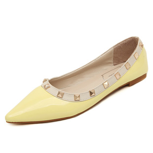 2016 Pointed Toe Flat women shoes size 35-40