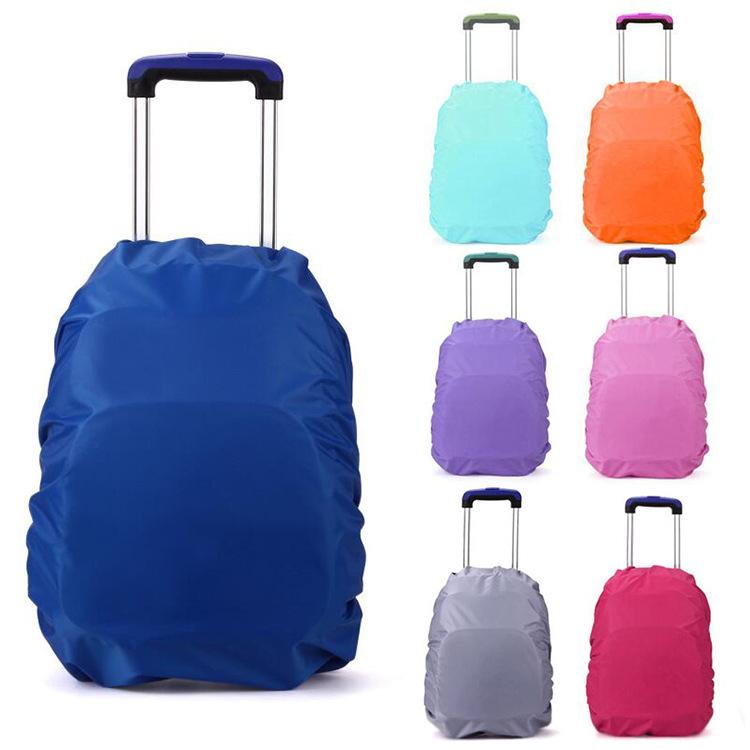 1-3-6年级拉杆书包防雨罩小学生书包防水罩户外包背包专用防雨