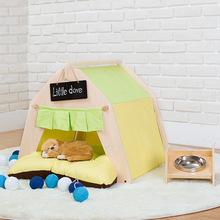 秋冬泰迪宠物窝可拆洗猫房子比熊中小型犬猫屋猫屋狗窝大蒙古包