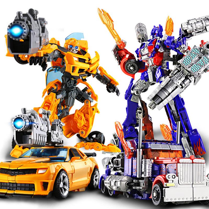 合金变形玩具金刚5擎天?#21697;?#27773;车机器人模型变形儿童节礼物6699-7