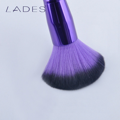 LADES blue wire's mysterious beliefs makeup brush with 11 purple makeup brush beauty makeup kit