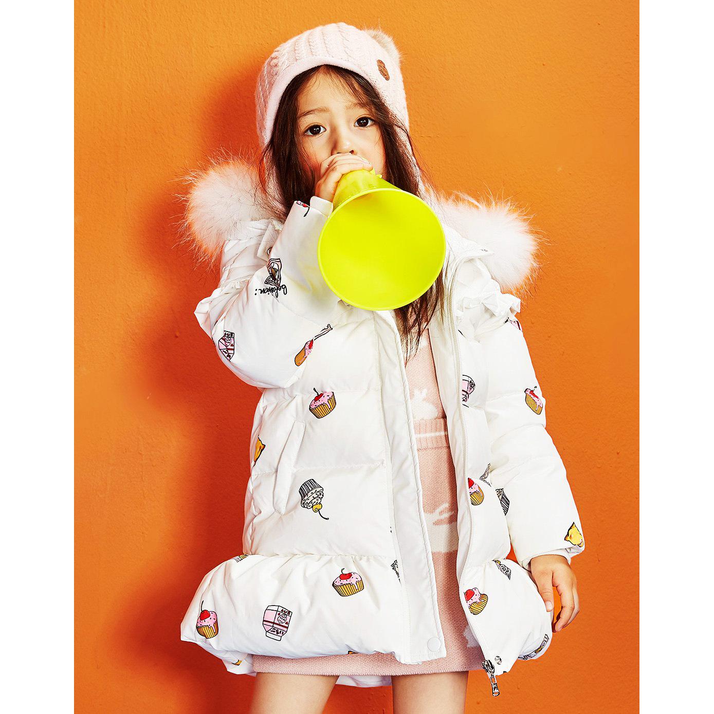 童装品牌折扣童装尾货批发走份 新款韩版羽绒服 儿童加厚外套冬款