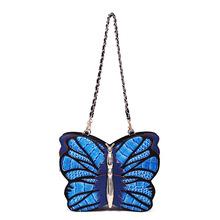 新款女包手提单肩斜挎包多功能双肩包拼色蝴蝶包立体动物造型包潮