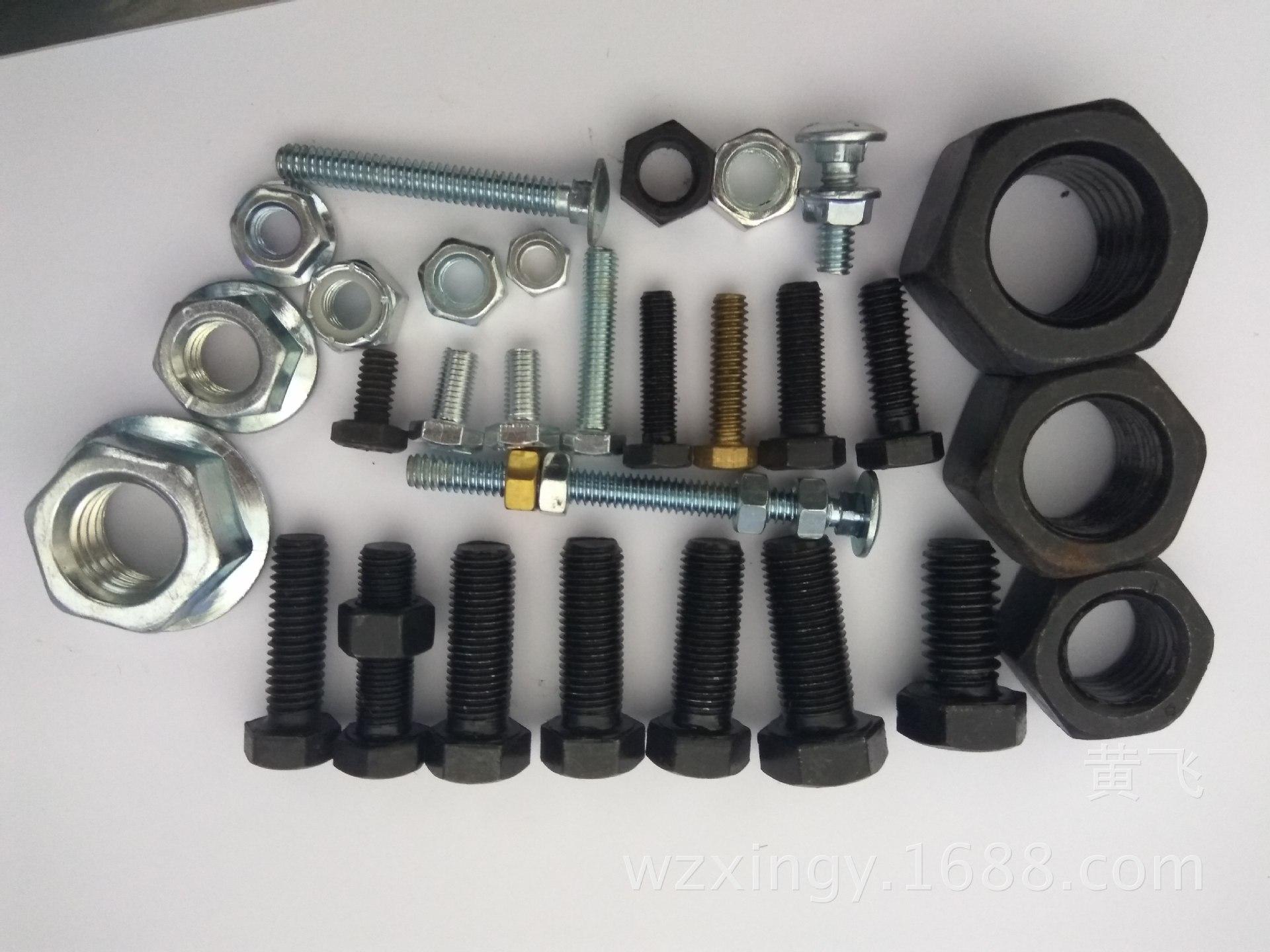 英美制现货 UNC英美制2级5级8级外六角螺栓UNF粗细牙螺钉非标