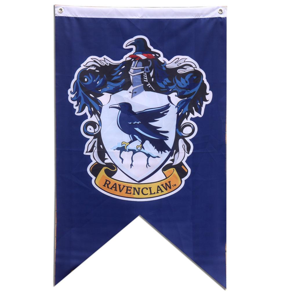 哈利波特学院旗帜魔法四大学院标志海报挂画旗帜班旗队旗