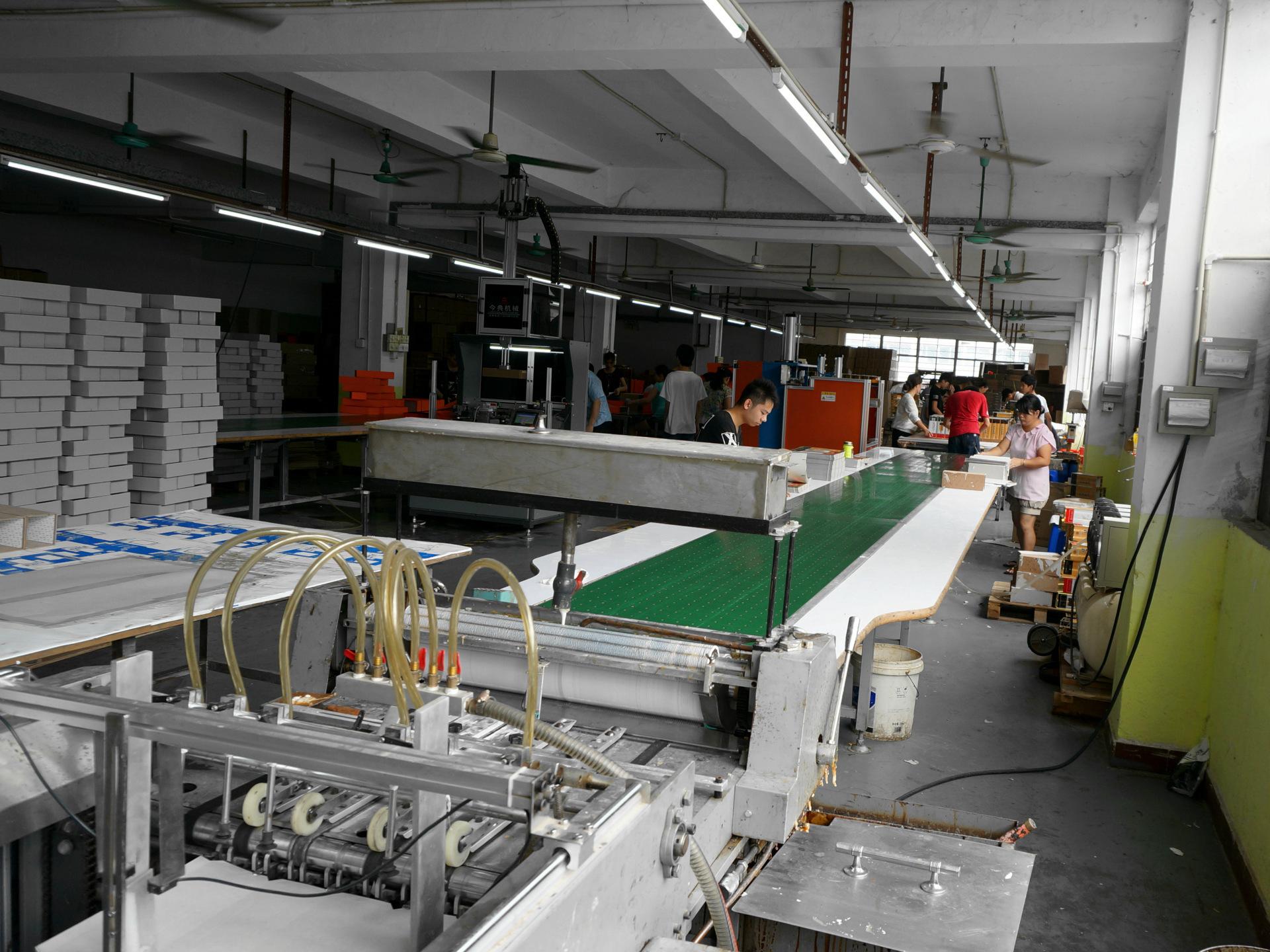 茶叶包装盒生产设备+