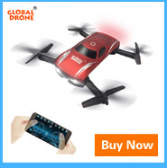 Global Drone Foldable Mini Pocket Dron Professional Racing Drone Brushless Motor RC Quadcopter with 4K HD WIFI FPV Camera