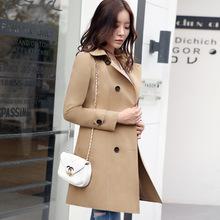 港风风衣女长款2019春装新款修身显瘦韩版学生时尚春秋大衣外套