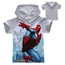 一件代銷 代理卡通童裝2020夏裝外貿批發 男童T恤帽衫