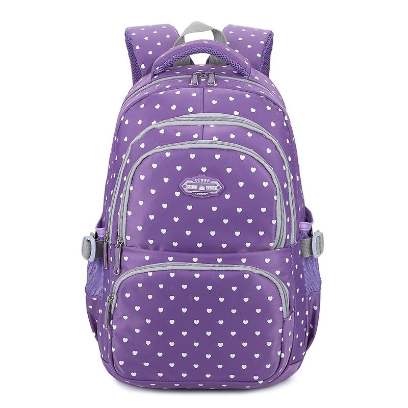 速卖通亚马逊新款印花升级版双肩包女中学生可爱书包休闲背包户外